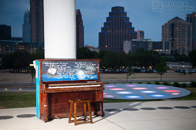 Austin Long Center Art Piano