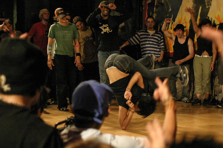 Elbow Freeze - Bgirl City Austin
