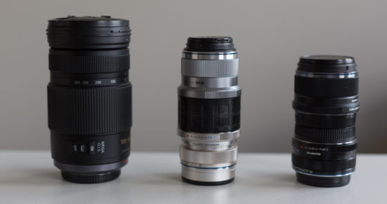 double sided lens cap joins two lenses together