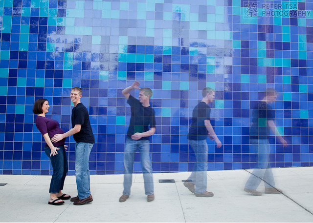 Austin Convention Center Blue Wall