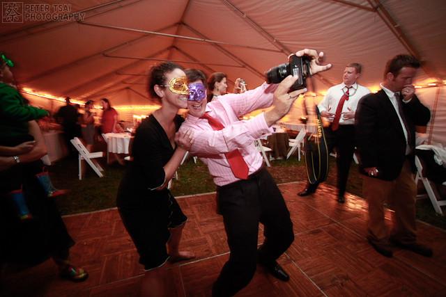 Wedding Reception - Fun Times - Mardi Gras