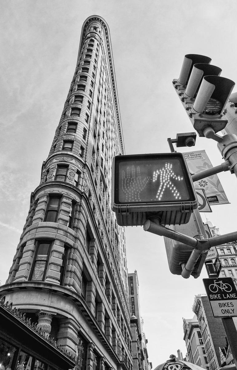Flatiron Building - Black and White - New York City ...