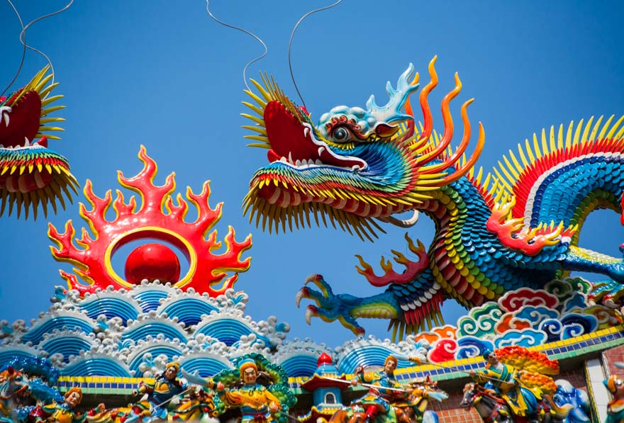 Taiwan_Temple_Dragons_Colorful