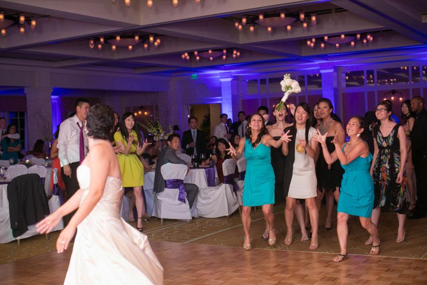 Catch the Bouquet - Peter Tsai Wedding