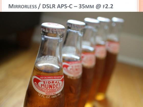 Camera Buying Comparison Photo - DSLR APS-C