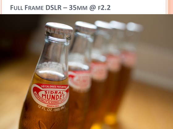 Camera Buying Comparison Photo - full frame DSLR 5D