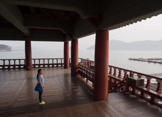 Looking out to the Sea - Jinhae, South Korea