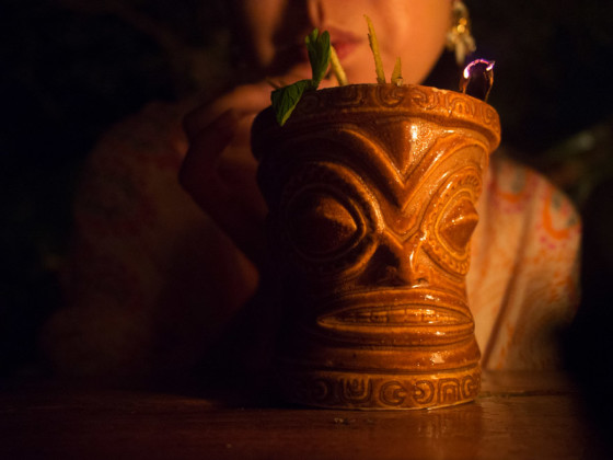 Gitano Tiki drink