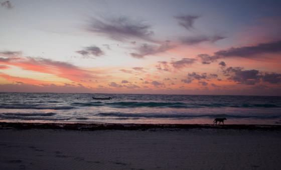 Tulum Mexico Sunrise