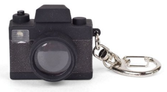 camera toy cute key chain
