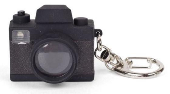 camera toy cute key chain