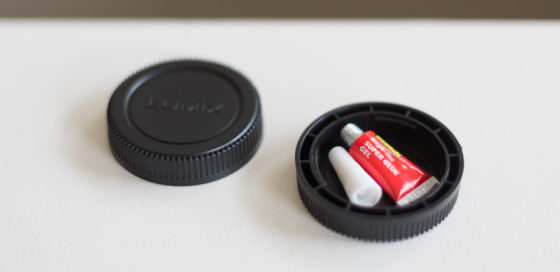 lens aps gear to save space
