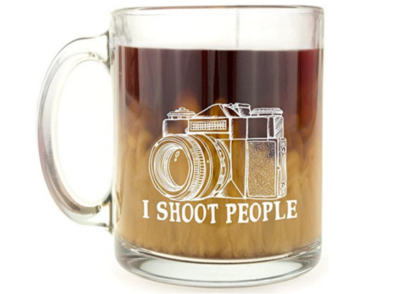 funny coffee mug for camera lovers