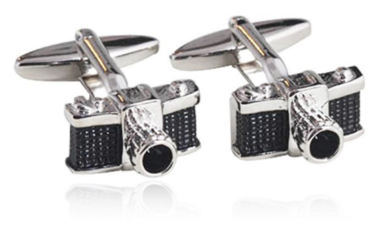SLR cufflinks - cool gift for camera lovers